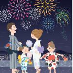 板橋花火大会令和元年日程と大ナイアガラの滝、穴場と場所取り方法をご紹介!