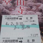4月の一目千本 吉野のさくら!開花状況写真付き!!