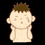 4~6ヶ月のアトピーの原因は?湿疹が顔だけならアトピーじゃないの?